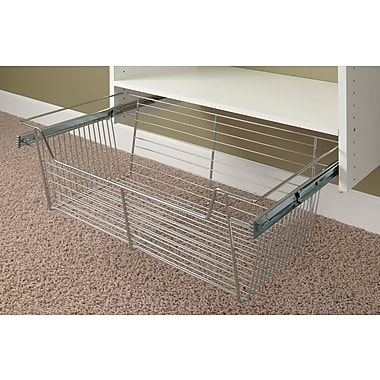 Easy Track 24''W x 13''H x 11''D Pull-Out Basket