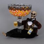 Karen Didion Beer Skeleton Figurine for Snack Dish
