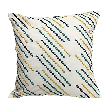 Ivy Bronx Constantine Embroidered Throw Pillow