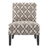 Charlton Home Portland Slipper Chair; Taupe