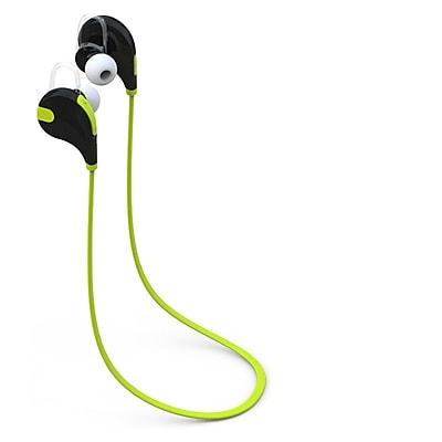 Laud Sports Wireless Headphones, Sweatproof In-Ear Bluetooth Earphones Stereo with Mic, Green