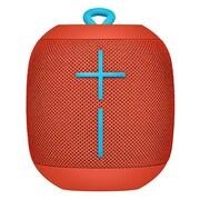 WONDERBOOM Portable Bluetooth Speaker, Fireball Red