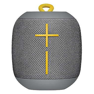 Logitech Ultimate Ears (UE) WonderBoom Waterproof Bluetooth Speaker, Stone Grey (984-000844)