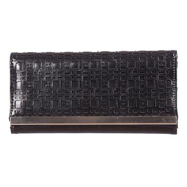 Club Rochelier – Pochette-portefeuille Sarah mince noir (DCL9371-S1-BLK)