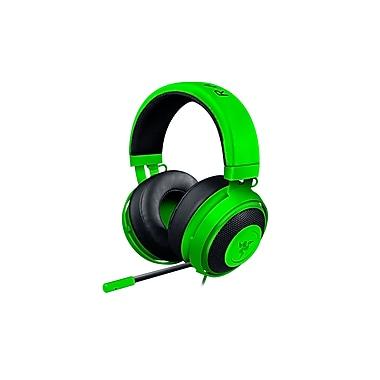 Razer – Casque de jeu analogique Kraken Pro V2, vert, coussinets circulaires (RZ04-02050300-R3U1)