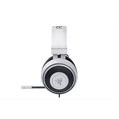 Razer Kraken Pro V2 Analog Gaming Headset, White, Oval Ear Cushion (RZ04-02050500-R3U1)