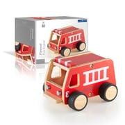 Guidecraft – Camion de pompiers en contreplaqué (G7507)