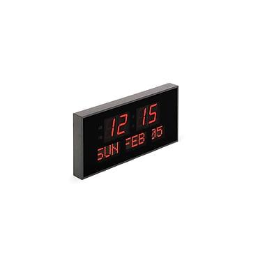 Réveil-matin avec très grand calendrier Big Clocks avec contrôle à distance complet