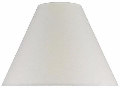 Aspen Creative Corporation 16'' Cotton Empire Lamp Shade; Ivory