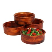Darby Home Co Penny Individual Salad Bowl Set (Set of 4)