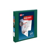 """1"""" Avery® Heavy-Duty View Binder with One Touch™ EZD® Rings, Green"""