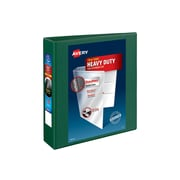 """2"""" Avery® Heavy-Duty View Binders with One Touch™ EZD® Rings, Green"""
