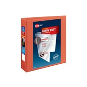 """2"""" Avery® Heavy-Duty View Binder with One Touch™ EZD® Rings, Orange"""