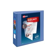 "3"" Avery® Heavy-Duty View Binder with One Touch™ EZD® Rings, Periwinkle"