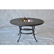 Darby Home Co Nola Dining Table w/ Ice Bucket