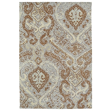 Fleur De Lis Living Tiffany Brown Area Rug; 3' x 5'