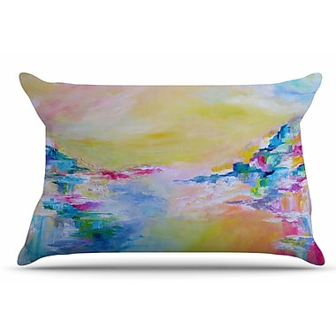 East Urban Home Ebi Emporium 'Something About The Sea 3' Pillow Case; Yellow
