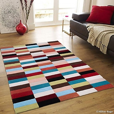 AllStar Rugs Hand-Woven Area Rug; 7'7'' x 10'6''
