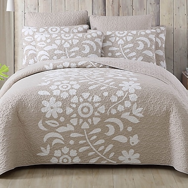 August Grove Walters Kelsey Quilt Set; Twin