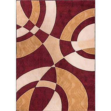 Winston Porter Symone Geometric Area Rug; 3'3'' x 5'