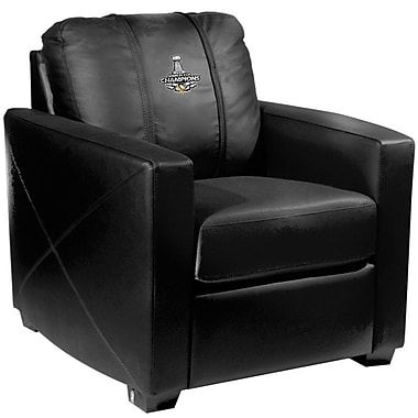 Dreamseat Silver Club Chair; Pittsburgh Penguins - 2016 Champs
