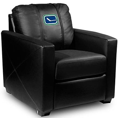Dreamseat Silver Club Chair; Vancouver Canucks - Alternate