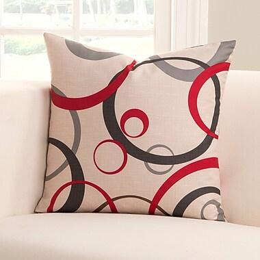 Orren Ellis Dianne Throw Pillow; 16'' H x 16'' W x 6'' D
