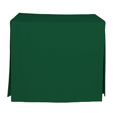 Tablevogue 48'' W Fitted Tablecloth; Pine