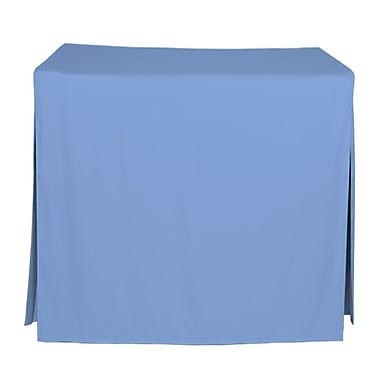 Tablevogue 48'' W Fitted Tablecloth; Surf
