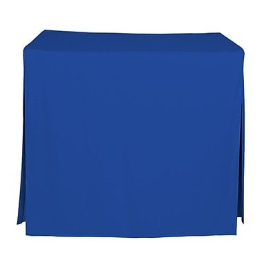 Tablevogue 48'' W Fitted Tablecloth; Royale