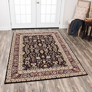 Astoria Grand Adkisson Red Area Rug; 7'10'' x 10'10''