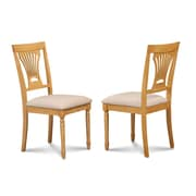 Darby Home Co Inwood Soft Padded Dining Side Chair (Set of 2); Oak