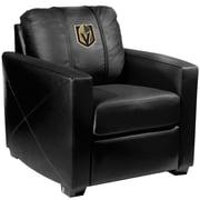 Dreamseat Silver Club Chair; Vegas Golden Nights