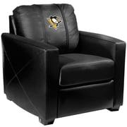 Dreamseat Silver Club Chair; Pittsburgh Penguins