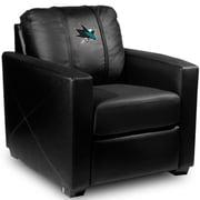 Dreamseat Silver Club Chair; San Jose Sharks