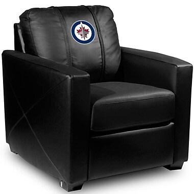 Dreamseat Silver Club Chair; Winnipeg Jets