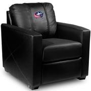 Dreamseat Silver Club Chair; Columbus Blue Jackets