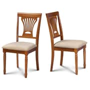 Darby Home Co Inwood Soft Padded Dining Side Chair (Set of 2); Saddle Brown