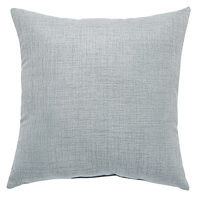 Red Barrel Studio Newfield Solid Indoor/Outdoor Throw Pillow; Gray