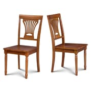 Darby Home Co Inwood Solid Wood Dining Chair (Set of 2); Saddle Brown