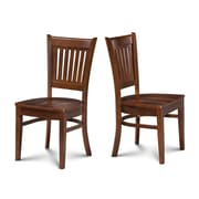 Alcott Hill Corcoran Dining Solid Wood Dining Chair (Set of 2); Espresso