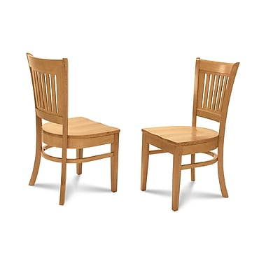 Alcott Hill Corcoran Dining Solid Wood Dining Chair (Set of 2); Oak