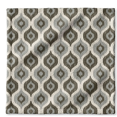 George Oliver Underhill Geometric Wash Cloth; Tan
