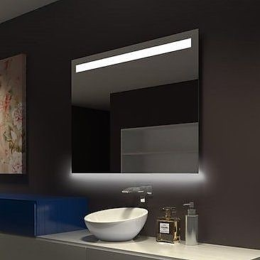 Orren Ellis Classic Dimmable LED Bathroom/Vanity Mirror;