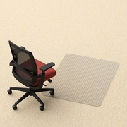 Dimex Rectangle Office Low and Medium Pile Carpet Straight Edge Chair Mat