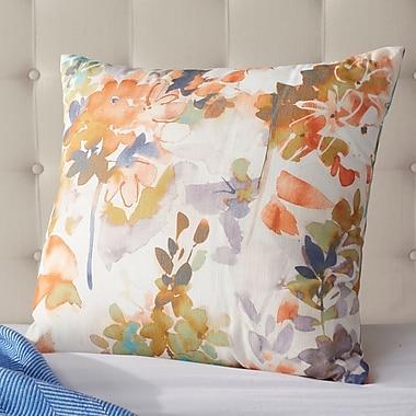 Alcott Hill Aranson Summer Set Peach Throw Pillow; 20'' H x 20'' W x 6'' D