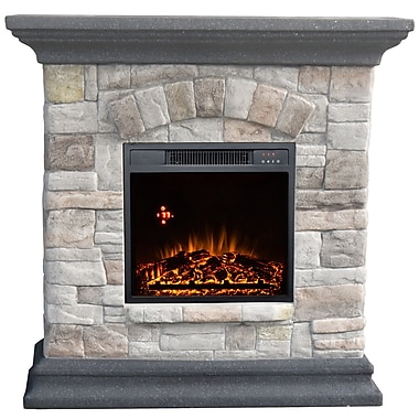 Alcott Hill Attica Comfort Glow Electric Fireplace