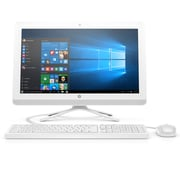 HP - PC tout-en-un 22-B209 Z5N57AA#ABL 21,5 po, 2,2 GHz AMD A8-7410, DD 1 To, 8 Go DDR3L SDRAM, Windows 10
