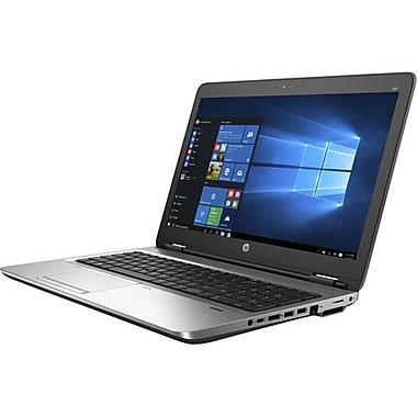 HP - Portatif ProBook 650 G2 V1P79UT#ABL, 15,6 po, Intel Core i5-6300U à 2,4 GHz, DD 500 Go, DDR4 8 Go, Win 7 Pro