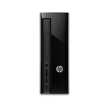 HP Slimline 270-A029 Z5N40AA#ABL Tower Desktop Computer, 3.2 GHz AMD A9-9430, 1 TB HDD, 8 GB DDR4 SDRAM, Windows 10